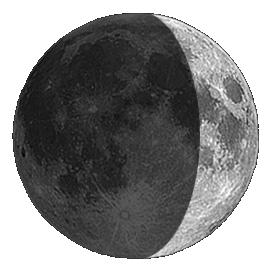 La Luna hoy en Lanzarote
