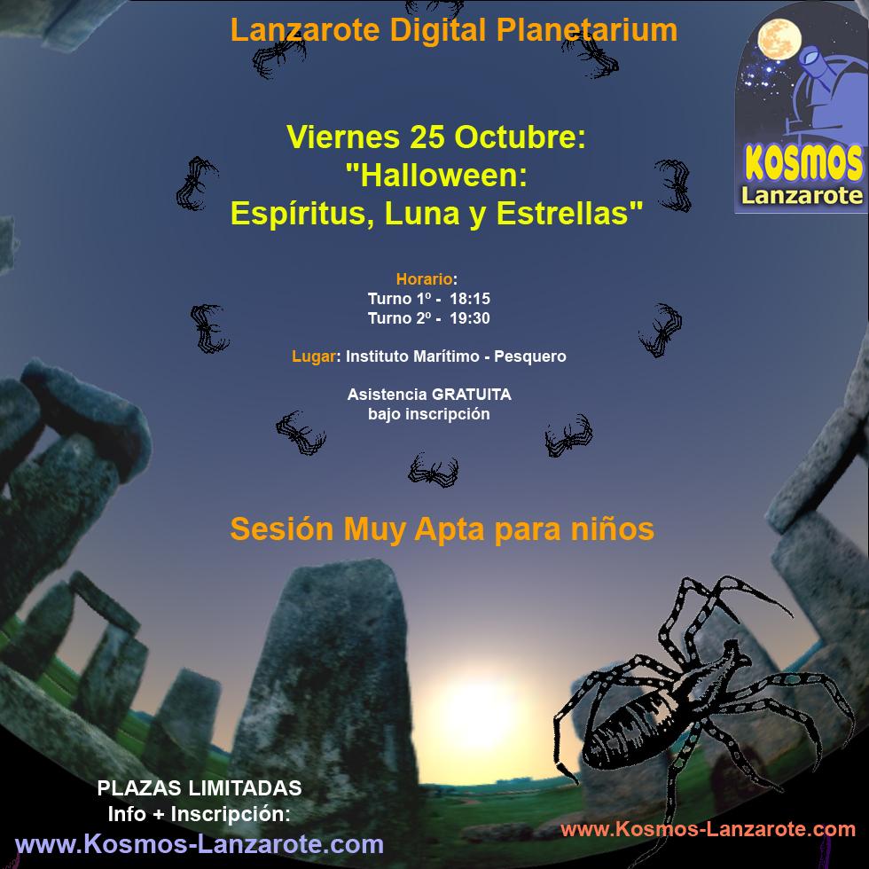 Lanzarote, Planetario Digital, Astronomía